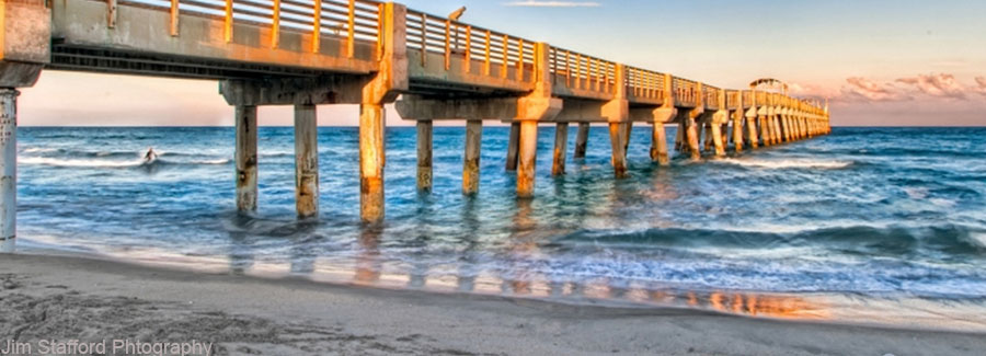 Image of Lake Worth beach ocean pier