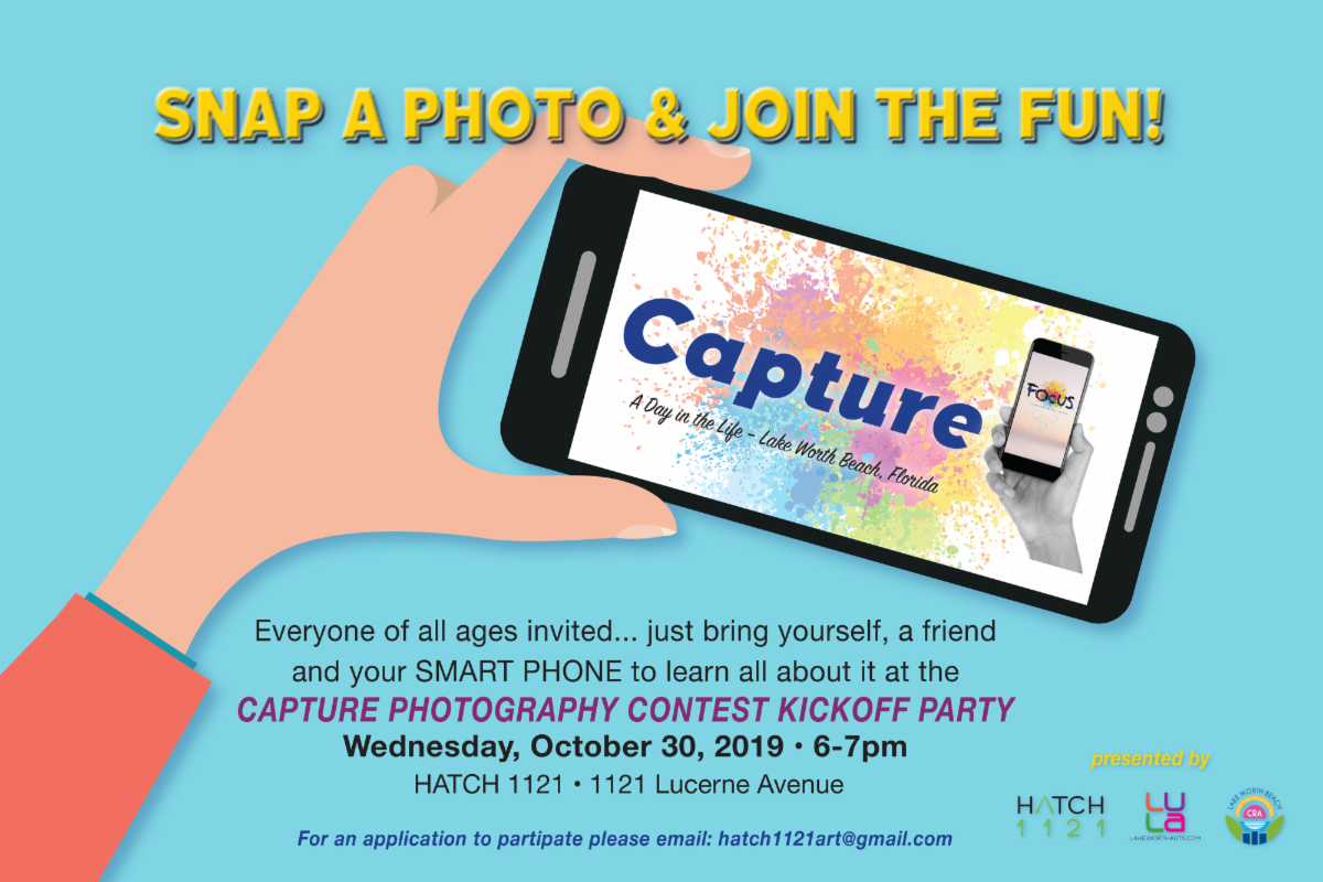 Capture Contest flyer. Click to read text copy.