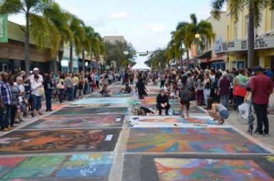 Exterior image of Street Painting Festival