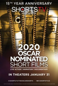 Oscar nominated shorts poster