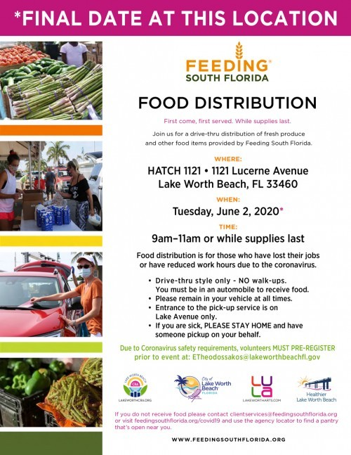 Feed South Florida flyer