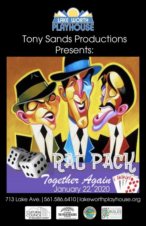 Tony Sands Rat Pack poster