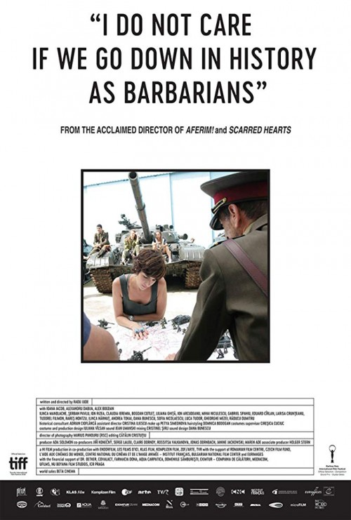 I do not care if we go down in history as barbarians movie poster