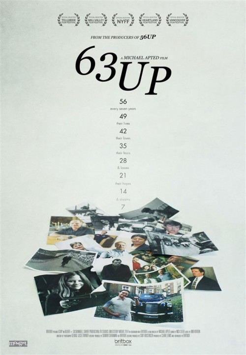 63 Up movie poster