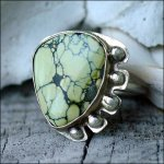Clay Glass Metal Stone Gallery: Turquoise Ring